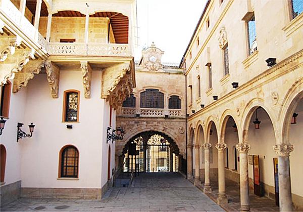 El Palacio de la Salina, actualmente, es la sede de la Diputación Provincial de Salamanca, otro de los bellos edificios que ver en salamanca.
