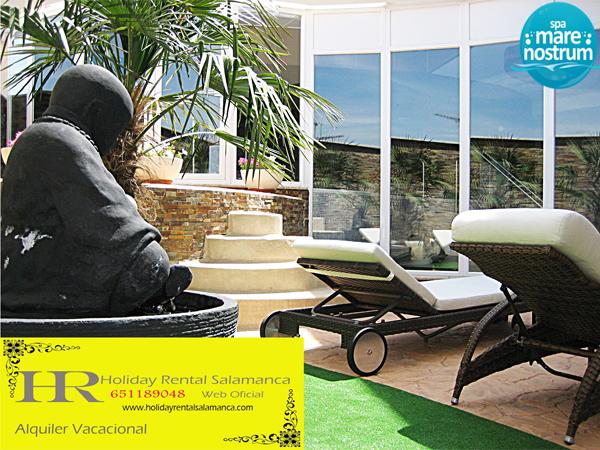 Zona de Relax del Spa Mare Nostrum en la Fuente de San Esteban en Salamanca, ideal para tu escapada romántica en salamanca para dos.